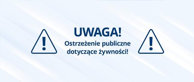 Wycofanie 3 partii produktu pn. Lody z M&M'S orzechowymi 62g z powodu braku oznakowania w języku polskim, w tym informacji o alergenach
