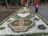 Piękna oprawa Bożego Ciała w Wielkopolsce. Powstały urzekające dywany kwiatowe! [zdjęcia]