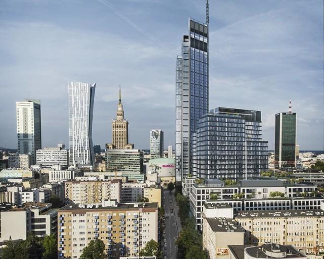 Varso. Najwyższy wieżowiec w tej części Europy. W środku zmieściłaby się połowa mieszkańców Rembertowa [WIZUALIZACJE]
