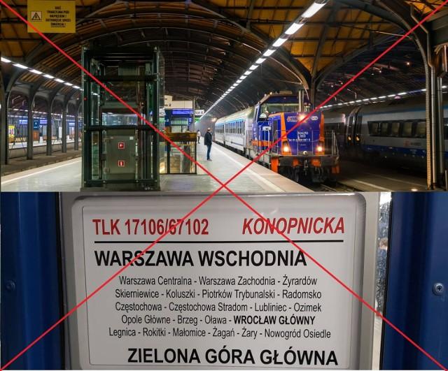 Po dwóch latach od otwarcia bezpośrednie połączenie kolejowe z Żagania do Warszawy zostanie zlikwidowane. Powodem jest małe zainteresowanie pasażerów