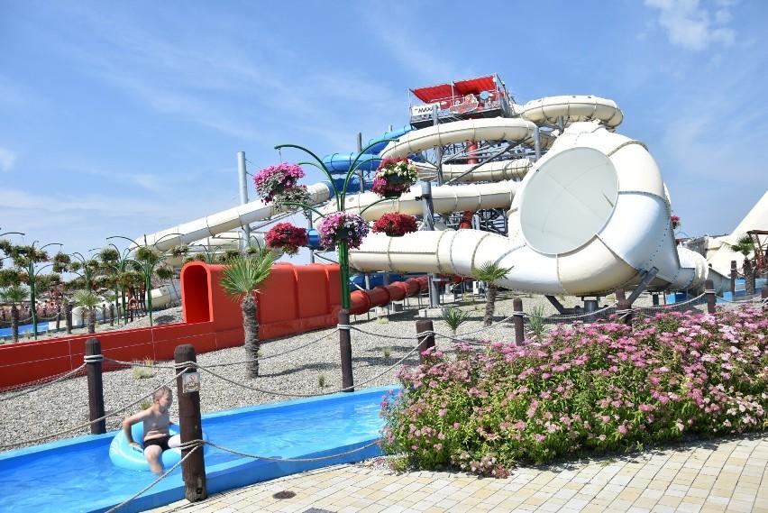 Strefa wodna w Parku Rozrywki Energylandia w Zatorze