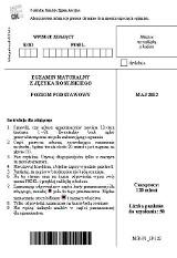 Matura 2013. Język rosyjski poziom podstawowy [ARKUSZE, ODPOWIEDZI]