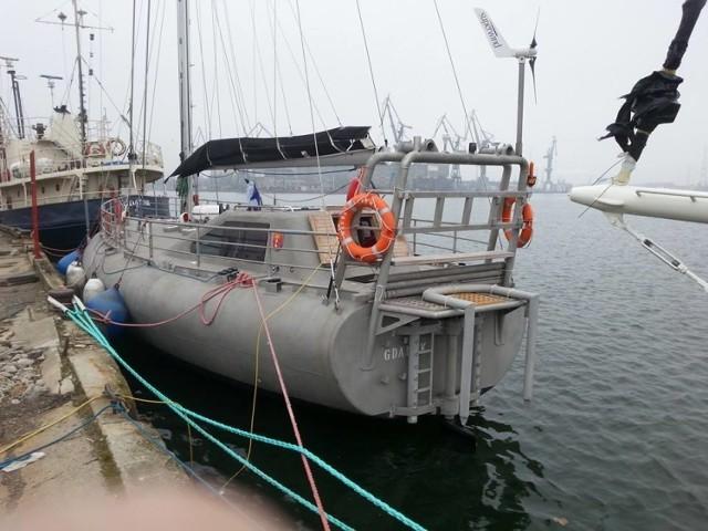 Załoga została ewakuowana z jachtu Magnus Zaremba, na Morzu Północnym
