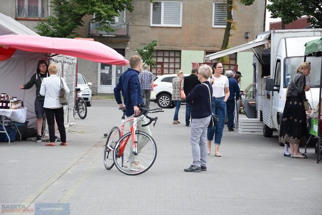 EkoJarmark przy ulicy Kaliskiej we Włocławku - 13 czerwca 2021 roku.