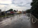 Ulewy w Osieku 2020. Gmina Osiek liczy straty po gwałtownych burzach