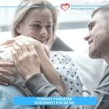 Mamy mogą liczyć na wsparcie najbliższych. Porody rodzinne znów w szpitalu w Jeleniej Górze
