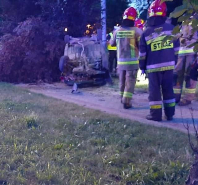 W wypadku w Rybniku ucierpiały dwie osoby.