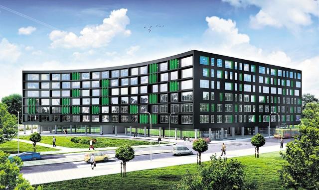W kompleksie Green Horizon będzie 33 tys. metrów kwadratowych powierzchni do wynajęcia.