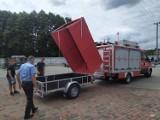 Lipnica Dolna. Strażacy ochotnicy pochwalili się nową przyczepą [ZDJĘCIA]