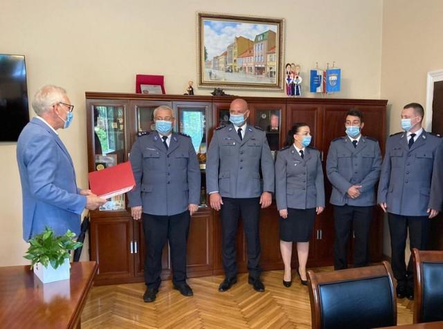 Powiatowe Obchody Święta Policji 2021r.