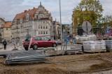 Obwodnica Wałbrzycha. Raport fotograficzny z prac w rejonie skrzyżowania Kolejowa-Wysockiego (ZDJĘCIA)