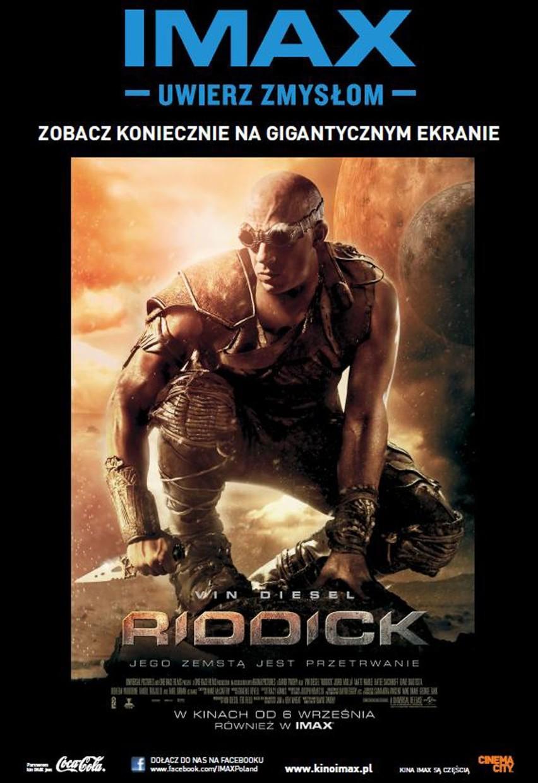 Konkurs Wygraj Bilet Na Film Riddick Do Kina Imax W łodzi
