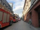 Łódź. Pożar w restauracji na ul. Piotrkowskiej! Straż pożarna w akcji ZDJĘCIA