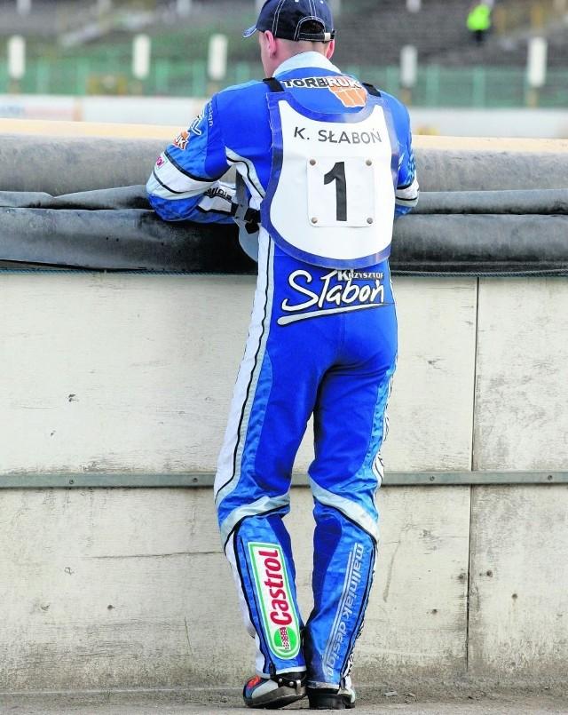 Krzysztof Słaboń więcej ostatnio rozmyślał niż jeździł. Wróci do gry?