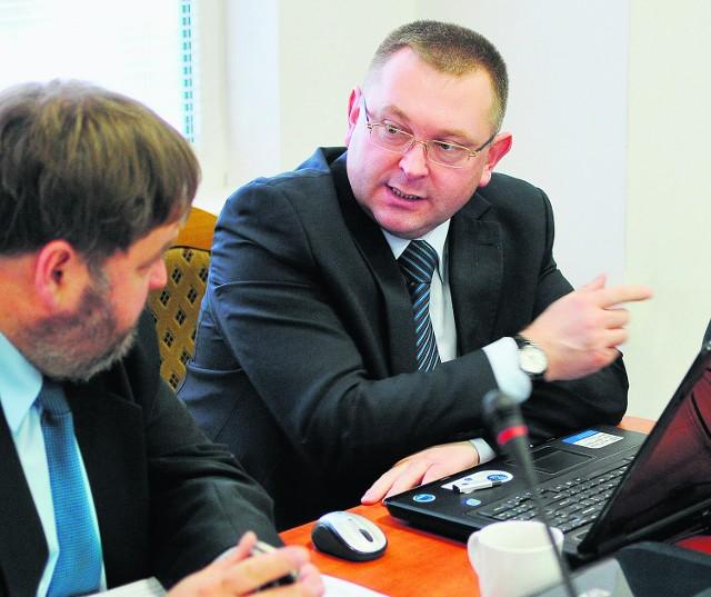 Arkadiusz Binek, likwidator OSiR, będzie chciał się spotkać z pracownikami spółki w październiku
