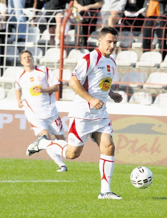 Marek Saganowski jest wychowankiem klubu z al. Unii. Teraz gra w greckim AO Atromitos.