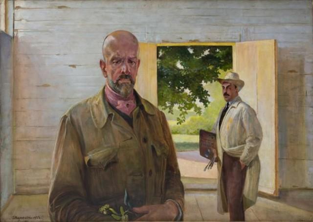 Jacek Malczewski, Przekazanie palety, 1922