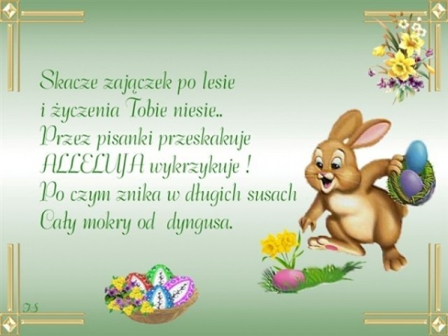 Życzenia na Wielkanoc 2021. Wierszyki śmieszne, krótkie, religijne... Do  wysłania SMS-em i na Facebooka [ŻYCZENIA wielkanocne] | Gliwice Nasze Miasto