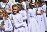 Pierwsza Komunia św. w Myszkowie w parafii pw. Narodzenia Najświętszej Maryi Panny ZDJĘCIA