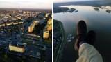 Dąbrowa Górnicza: Przelot paralotnią nad naszym miastem. Zobacz te niesamowite zdjęcia!