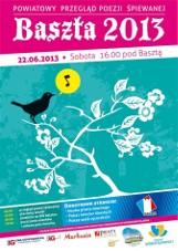 Powiatowy Przegląd Poezji Śpiewanej Baszta 2013 już w sobotę