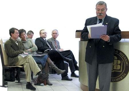 Wśród uczestników konferencji nie zabrakło praktyków: samorządowców, posłów oraz przedsiębiorców. Było ich blisko pół setki.