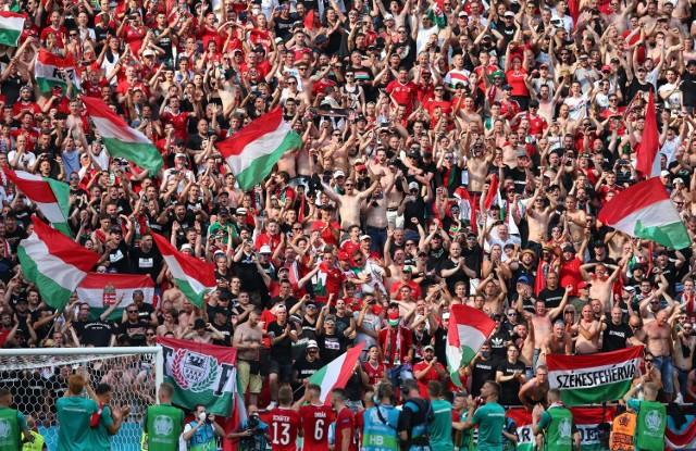 Mecz Węgry - Francja w Budapeszcie