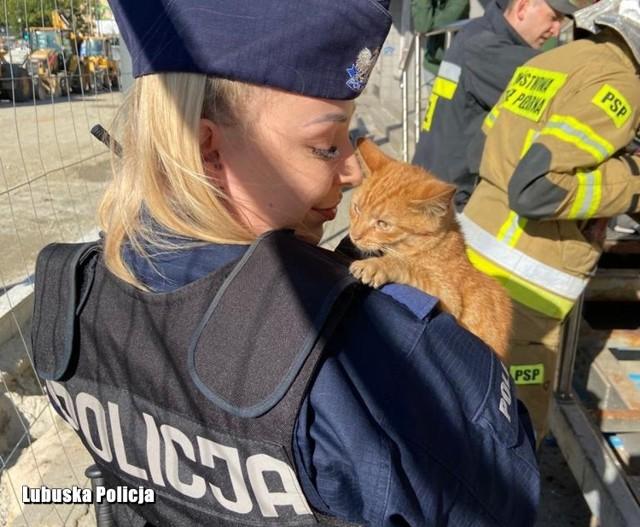 Oto super policjantka ze Skwierzyny ratuje ludz, ale i zwierzaki