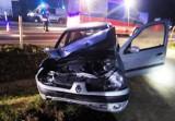 Paszyn. Dwa auta rozbite. Jedna osoba w szpitalu [ZDJĘCIA]