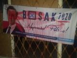 Na terenie powiatu jasielskiego dochodzi do licznych zniszczeń, uszkodzeń i kradzieży banerów wyborczych Krzysztofa Bosaka [FOTO]