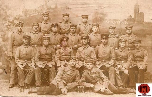 Jedno z nielicznych zdjęć z okresu Wielkiej Wojny w Muzeum w Wodzisławiu Śl. Na fotografii prawdopodobnie jest mieszkaniec Wodzisławia Śl.