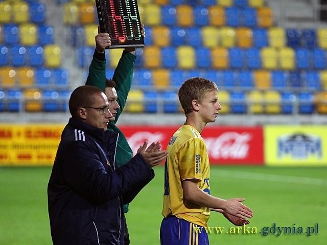 Mateusz Szwoch przed swoim debiutem w I lidze