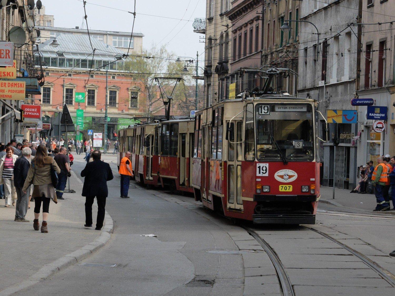 Znalezione obrazy dla zapytania: bytom jagiellońska tramwaje