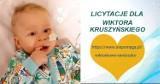 Licytacje i akcje na rzecz Wiktorka Kruszyńskiego. Ile  brakuje do 10 mln zł potrzebnych na operację?