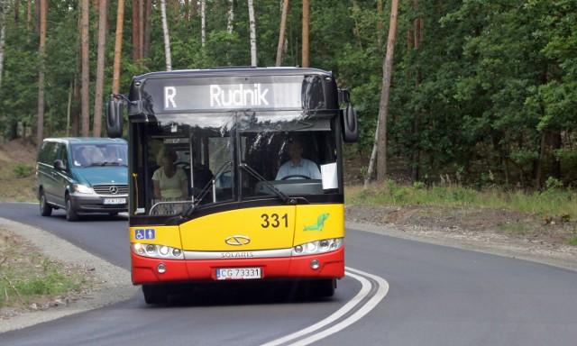 """Do ośrodka miejskiego nad Rudnikiem już w majówkę dojechać możemy autobusem miejskim. Ale nie będzie on oznaczony literą """"R"""""""