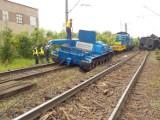 Wykolejenie pociągu we Wronkach. Problemy pasażerów