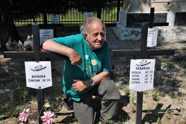 Na zdjęciu Tadeusz Jamroz.