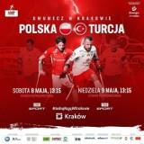 Dwumecz Polska - Turcja w amp futbolu na stadionie Prądniczanki. Sprawdzian przed wrześniowymi ME w Krakowie [ZDJĘCIA]