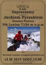 Spotkanie z podróżnikiem Jackiem Pyrzakiem w Drukarnii w Rzeszowie