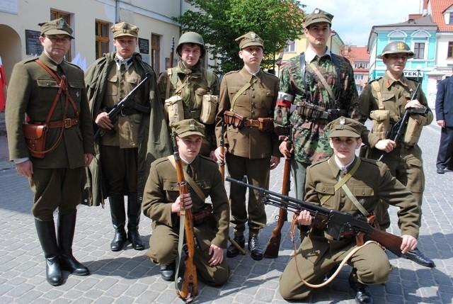 W Koninie rocznicę zakończenia drugiej wojny światowej uczczono w niedzielę