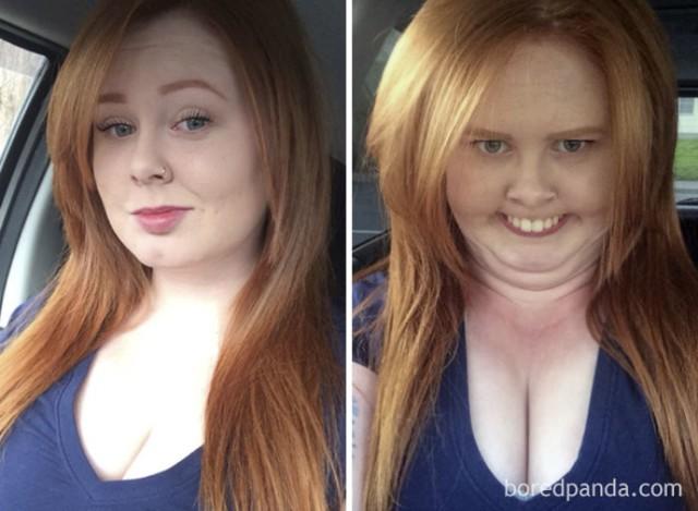 Jeden człowiek - dwa zdjęcia. Nie uwierzysz, że to te same osoby! [GALERIA]