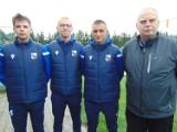 Nasze drużyny piłkarskie grały w Pucharze Polski i w lidze.
