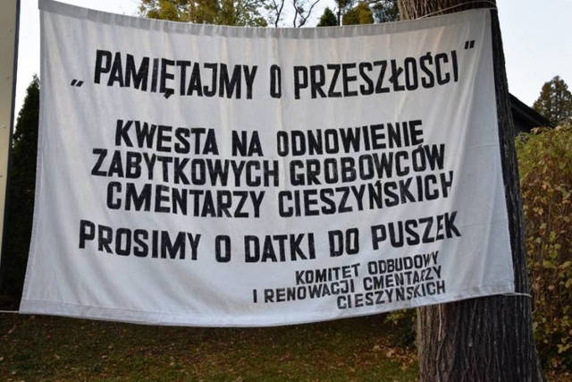 Kwesta na Cmentarzu Komunalnym w Cieszynie kwesta organizowana jest od 1995 r.