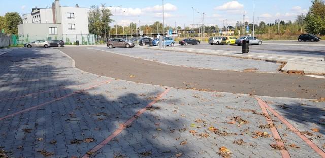 Centrum przesiadkowe Katowice Ligota, 7 października 2019, godz. 13
