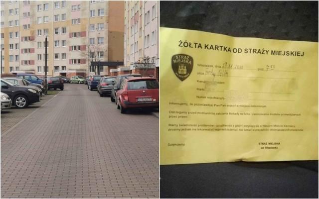 Kłopot z miejscami parkingowymi i oznakowaniem na ulicy Fredry we Włocławku