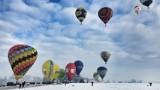 Nowy Targ. Balony opanowały niebo nad stolicą Podhala. 20 balonów lata nad miastem