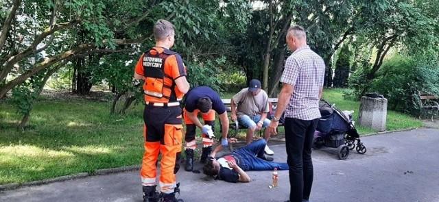 Dwie interwencje strażników granicznych w Gubinie i Krośnie Odrzańskim. Gdyby nie ich szybka reakcja, to mogło dojść do tragedii.