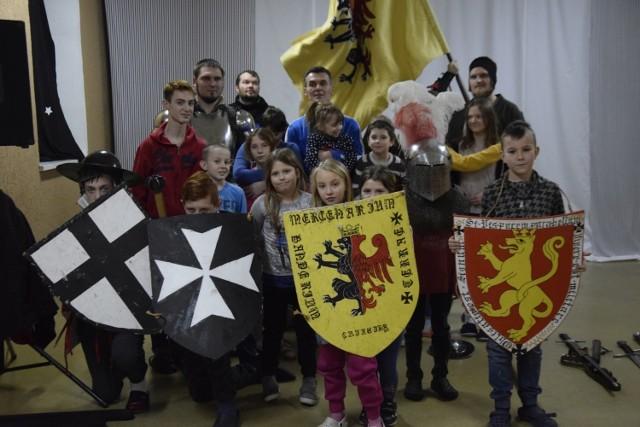 Pierwszy raz rycerze spotkali się z podopiecznymi aleksandrowskiej placówki w styczniu 2019 roku.