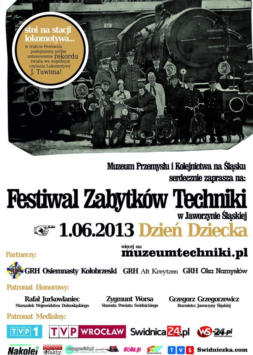 Serdecznie Zapraszamy Na Festiwal Zabytków Techniki Pod Parą