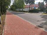 Pleszew. Zakończyła się przebudowa chodnika na ciąg pieszo-rowerowy przy ul. Bogusza